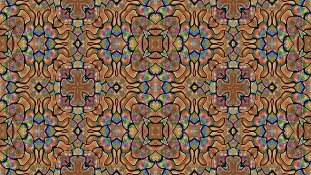 Kaleidoscopic background Kaleidoscopic generated seamless loop video scientific imaging technique stock videos & royalty-free footage