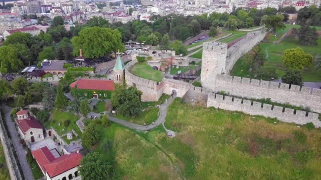 Kalemegdan fortress and park