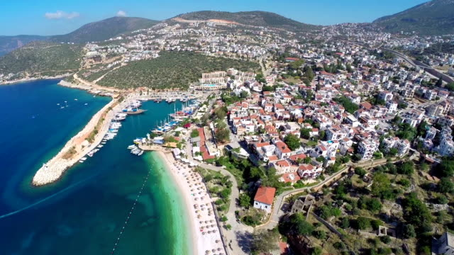 Kalkan Mediterranean town video