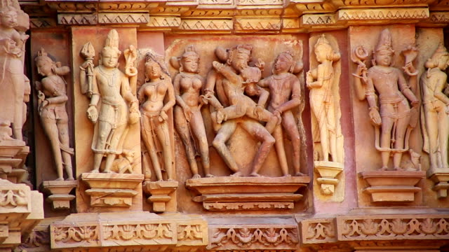 Kama Sutra Group Sex Figures video