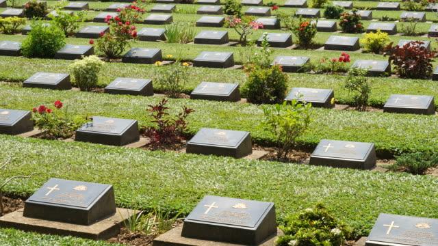 Kanchanaburi War Cemetery video