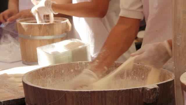 Kanom Mai Fa, Chinese sweet dessert. video