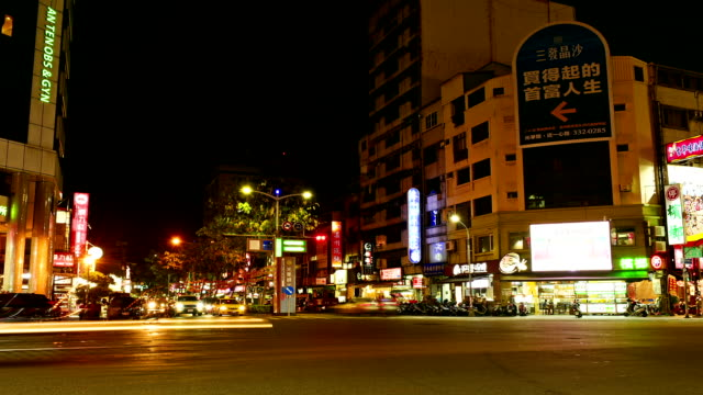 Kaohsiung old street at night