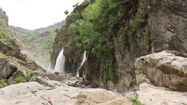 'Kapuzbasi' waterfall in the 'Aladaglar' national park.KAYSERI Kayseri/Turkey 05/27/2014