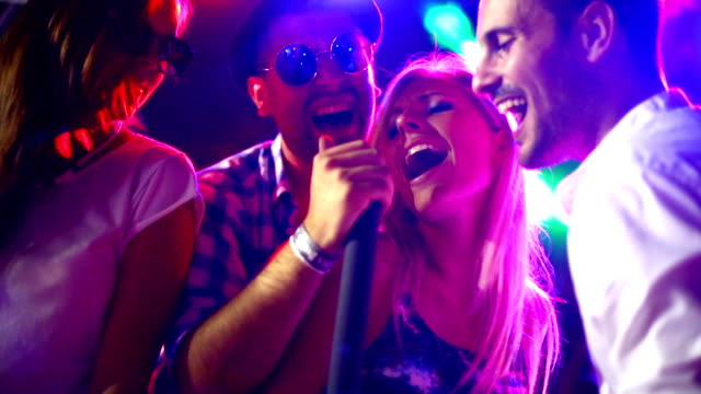 Karaoke contest. video