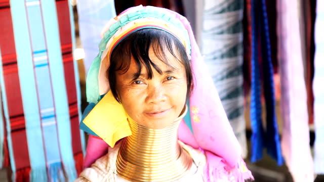 Karen Long Neck hill tribe village video