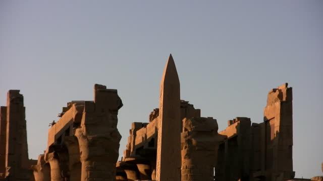 karnak tempel - egyptisk kultur bildbanksvideor och videomaterial från bakom kulisserna