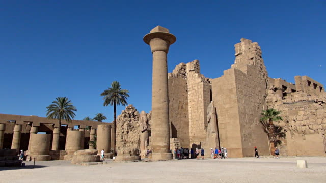 Karnak Temple - Luxor, Egypt video