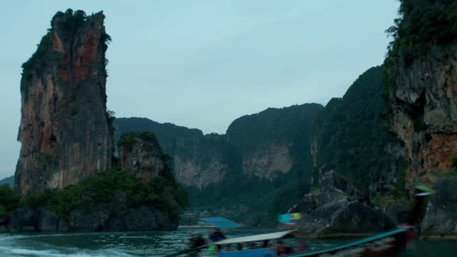 Karst Formations, Thailand video