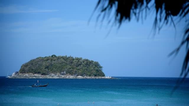 vídeos de stock, filmes e b-roll de praia de kata, phuket - phuket