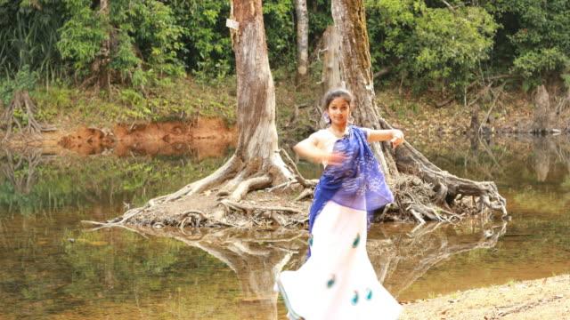 Kathak Dancer Performing video