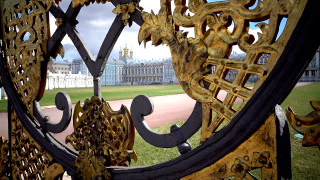 Katherine's hall in Tsarskoe Selo Pushkin, Russia video