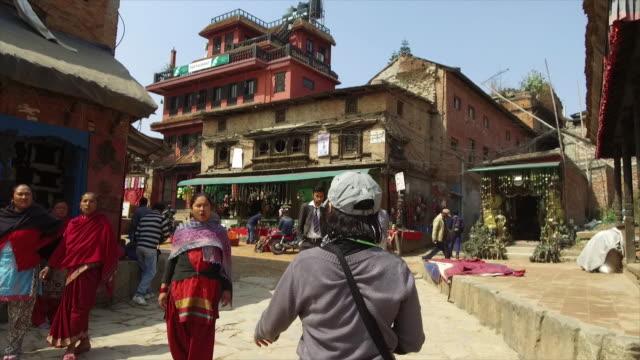 ネパールのカトマンズ - ネパール点の映像素材/bロール