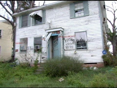 katrina damaged house new orleans, la - foreclosure stock videos & royalty-free footage