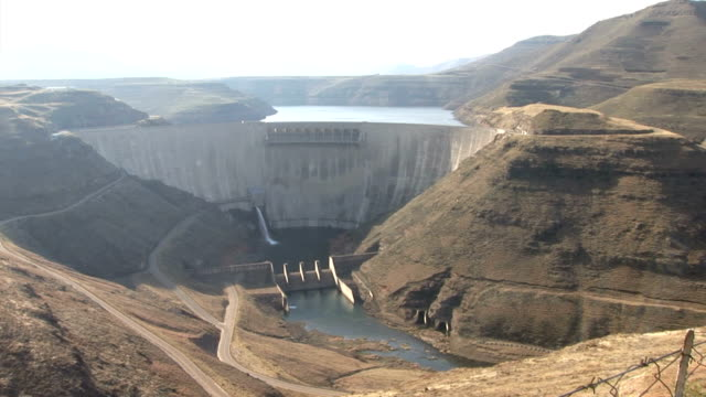 Katse Dam wide video