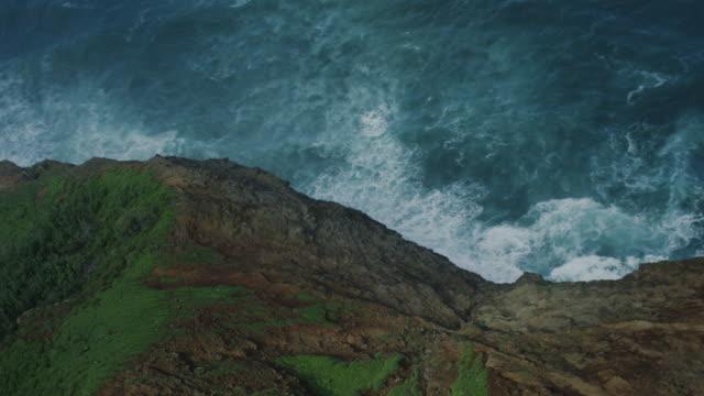 Kauai, Hawaii Napali Coast, Aerial Shot video