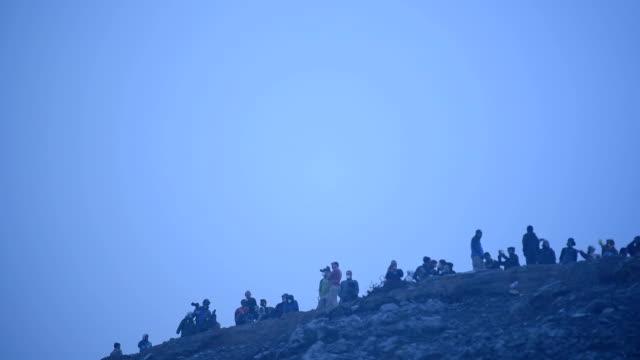 Kawah Ijen Volcano Crater Landmark Nature Travel Place Of Indonesia video