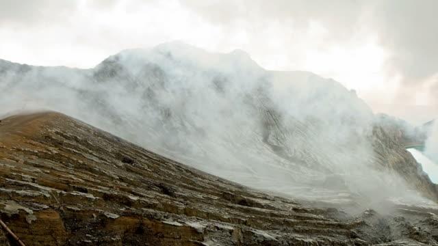 kawah ijen volcano video