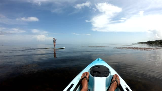 Kayaking and paddleboarding in the Florida Keys