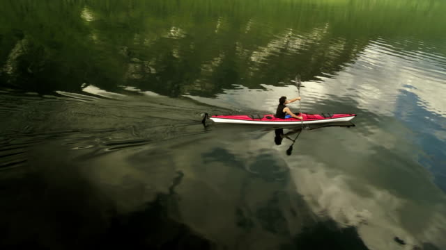 Kayaking On The Lake video
