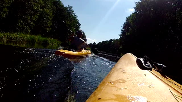 Kayaking. video