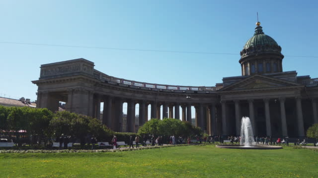 kazan cathedral st. petersburg russia video