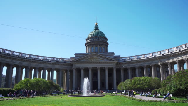 kazan cathedral st. petersburg, russia video