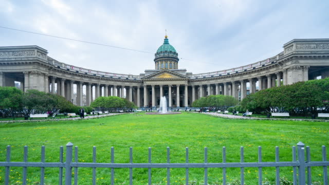 Kazan Cathedral, St. Petersburg, Russia video