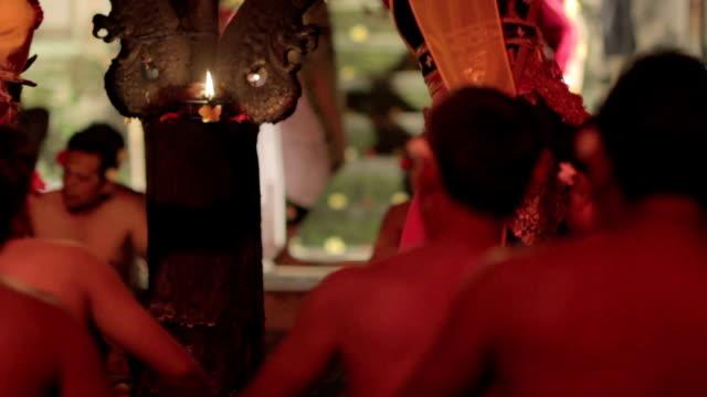 kecak dance performance, bali, indonesia video