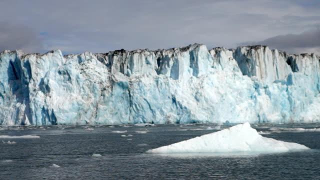 Kenai Fjords National Park Floating Iceberg Glacier Alaska video