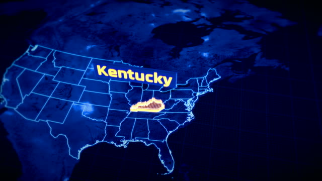 Us Kentucky State Border 3d Visualization Modern Map Outline Travel on black kentucky map, funny kentucky map, cartoon kentucky map, print kentucky map, 3d kentucky flag, 3d kentucky outline, 3d kentucky poster, hd kentucky map,