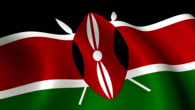 Kenya Flag Loopable video