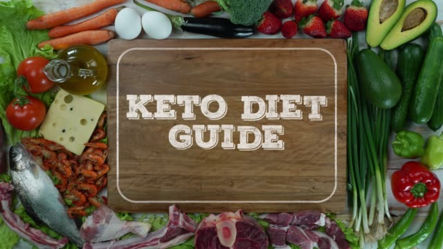 Keto diet guide stop motion video