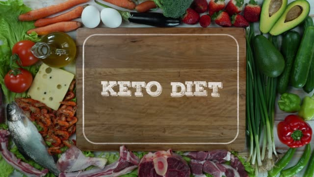 Keto diet stop motion video