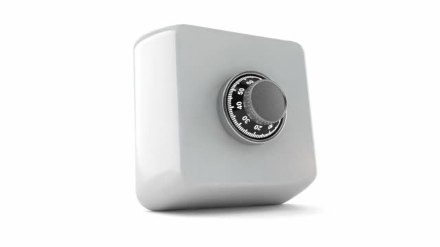 Keyboard button with combination lock video