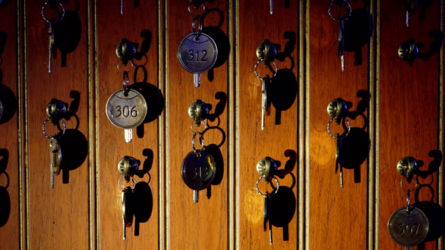 Keys at the reception video