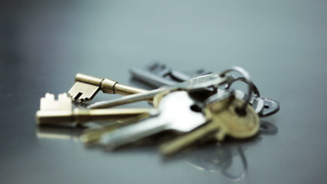 keys bunch      co  se - key ring stock videos & royalty-free footage
