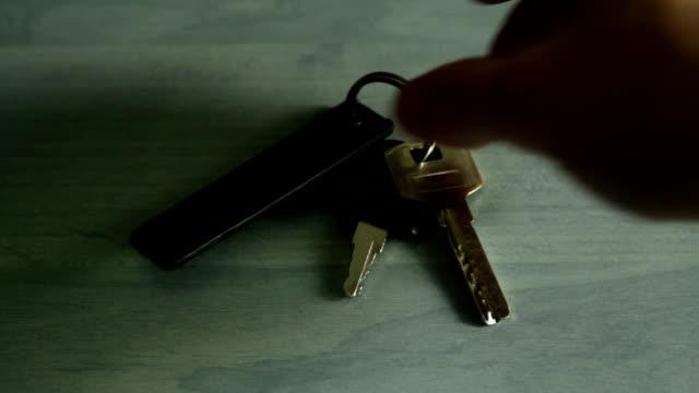 keys - key ring stock videos & royalty-free footage
