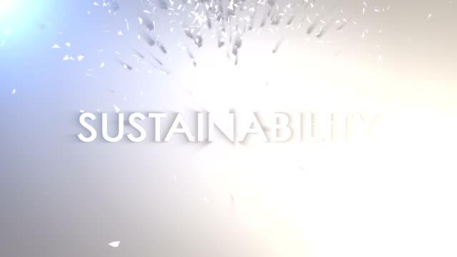 Ökologie Keywords Animation Explosion, Rendern, Hintergrund, Schleife – Video