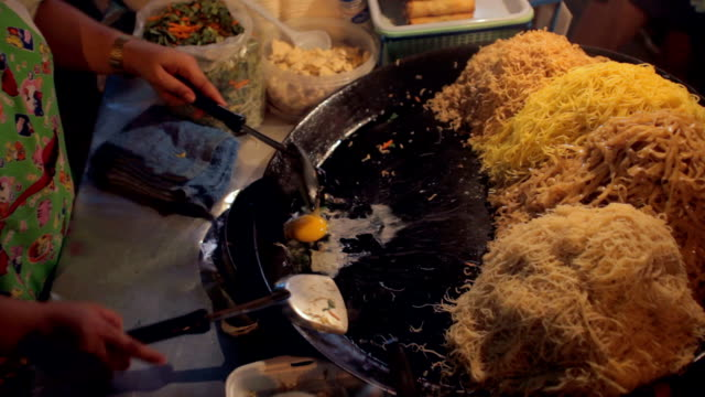 Khao San road cooking video