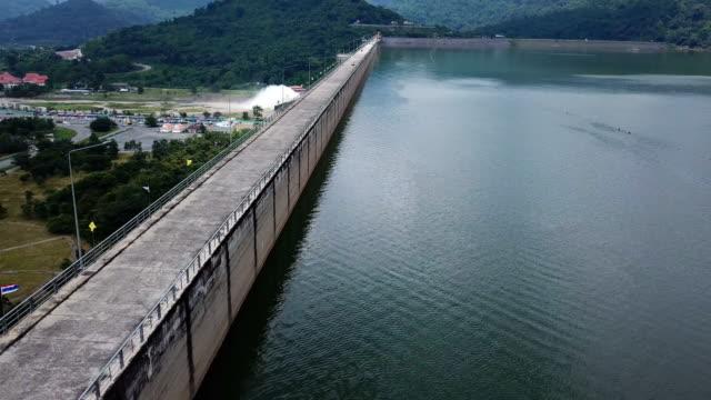 Khun Dan Prakan Chon Dam in Nakhon Nayok,Thailand