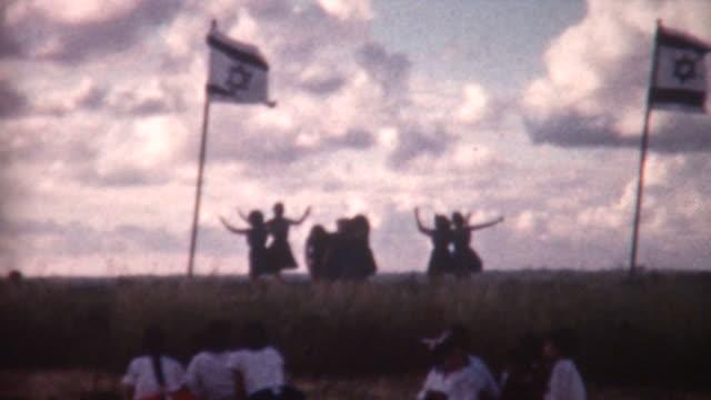 Kibbutz Folk Dancers 1962 video