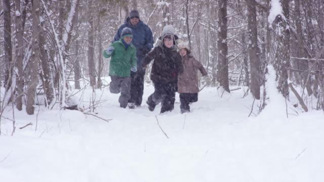 Kicking Up Snow video