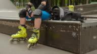 istock kid energy extreme sport hobby roller resting 1158455508