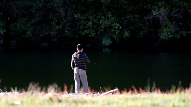 Kid in the river video