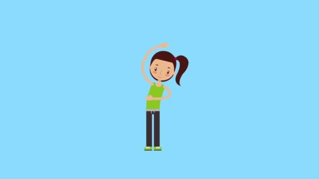 vidéos et rushes de entraîneur personnel sport enfant - chrono sport