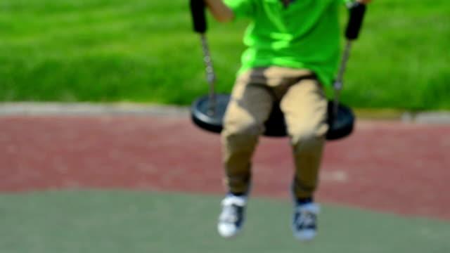 Kid Swinging video
