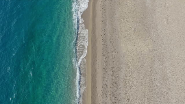 kidrak beach aerial view - aerial beach stock videos & royalty-free footage