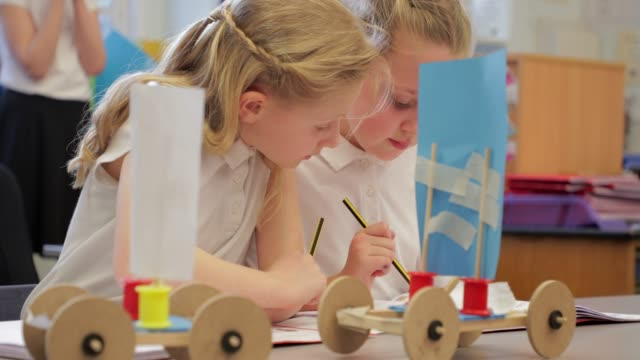 Kids In Arts And Craft Stock Video More Clips Of 4k Resolution