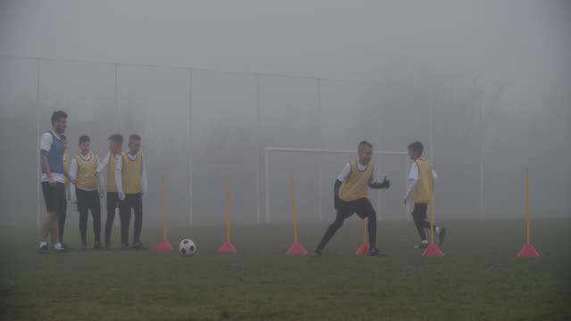 4K: Kids soccer training. video